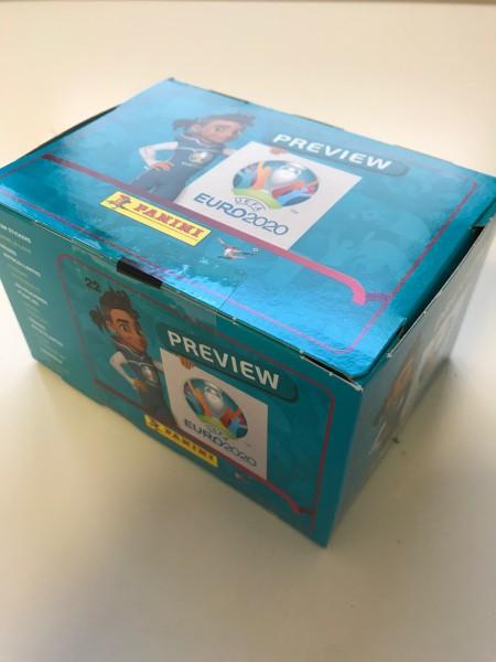 "Panini EM 2020 ""Preview-Collection"" - Display B ""Premium"" (120 Tüten)"