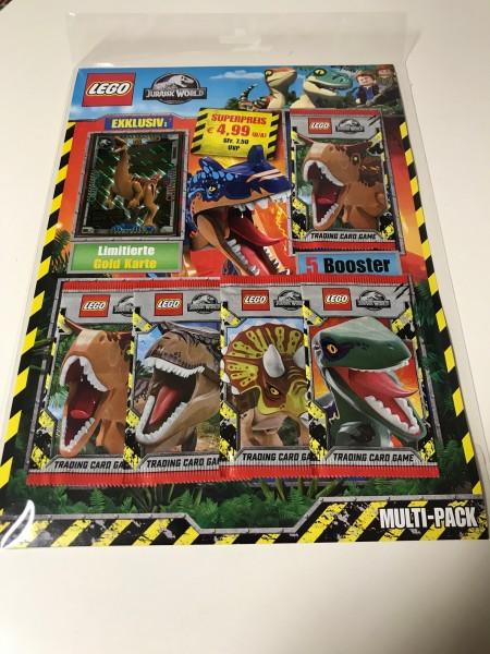 "LEGO ""Jurassic World"" Trading Cards (2021) - Multipack 3 (LE 9)"