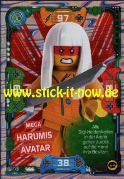 Lego Ninjago Trading Cards - SERIE 5 (2020) - Nr. 150 ( Mega Karte )
