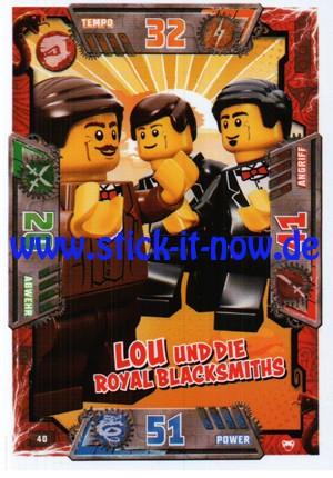 Lego Ninjago Trading Cards - SERIE 2 (2017) - Nr. 40