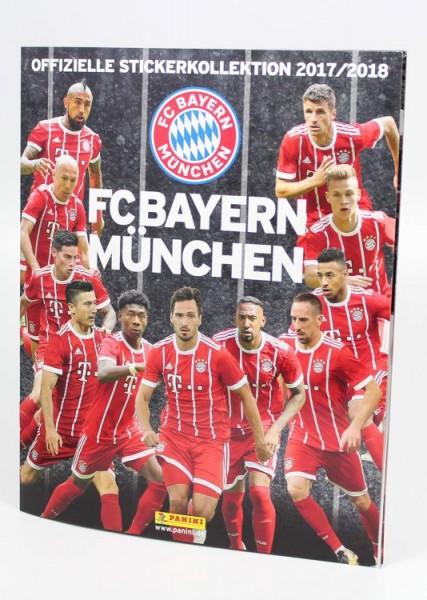 FC Bayern München 17/18 - Sticker - Stickeralbum