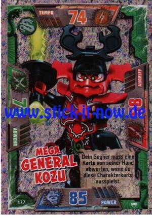 Lego Ninjago Trading Cards - SERIE 2 (2017) - Nr. 177 (GLITZER)