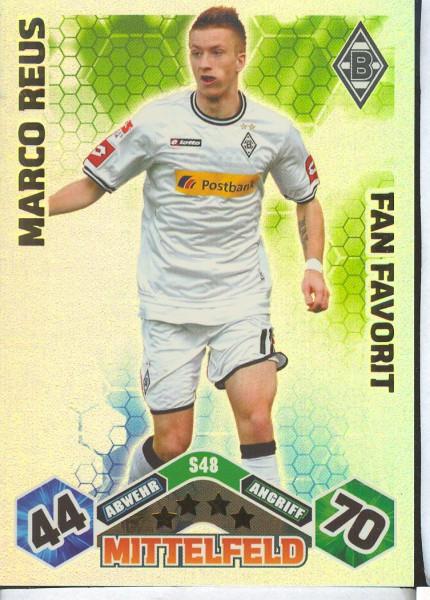 Marco Reus - Match Attax 10/11 Spezial - Fan Favorit