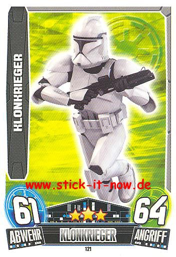 Force Attax Movie Collection - Serie 3 - KLONKRIEGER - Nr. 121
