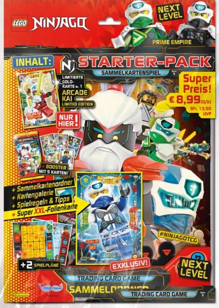 """Lego Ninjago Trading Cards - SERIE 5 """"Next Level"""" (2020) - Starter-Set"""