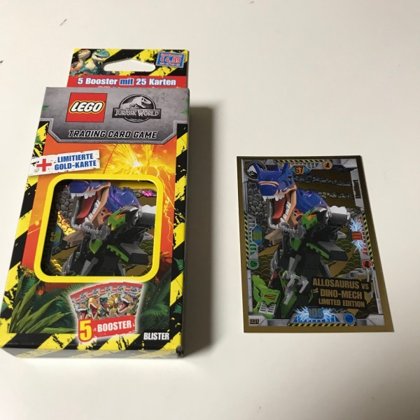 "LEGO ""Jurassic World"" Trading Cards (2021) - Blister 4 (LE 17)"
