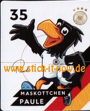Rewe DFB Sammelkarten EM 2020 - Maskottchen Paule - Nr. 35