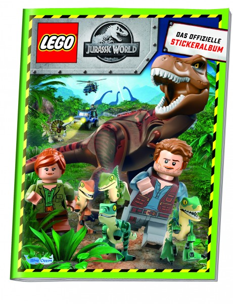 "LEGO ""Jurassic World"" (2019) - Stickeralbum"