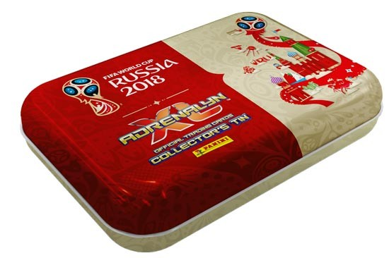 "Adrenalyn XL ""WM Russia 2018"" - Pocket Tin ( Agüero )"