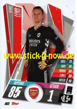 "Match Attax Champions League 2020/21 ""Update"" - Nr. ARS 2"