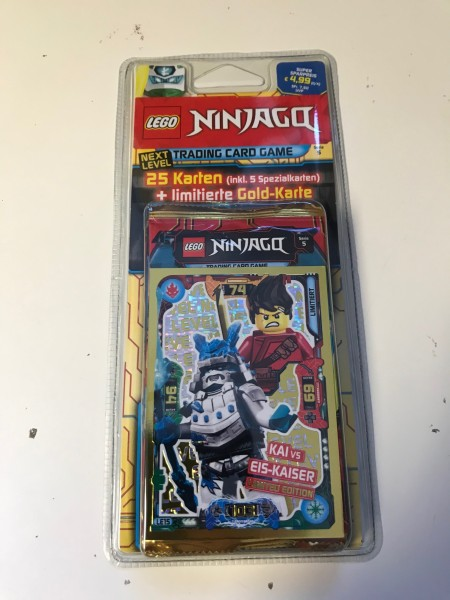 "Lego Ninjago Trading Cards - SERIE 5 ""Next Level"" (2020) - Blister 1 (LE15)"