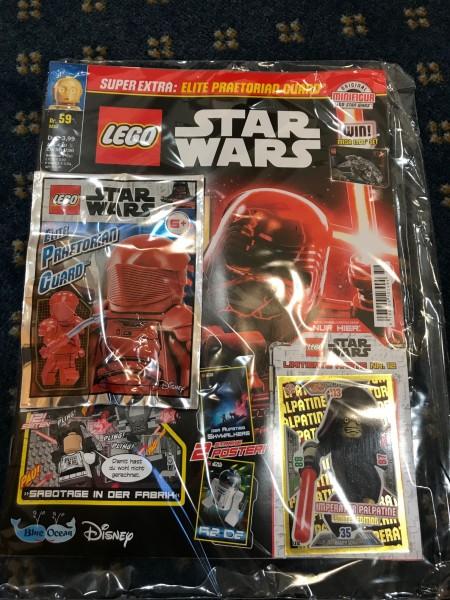 Lego Star Wars Magazin Nr. 59 (mit Lego Figur und LE12 )