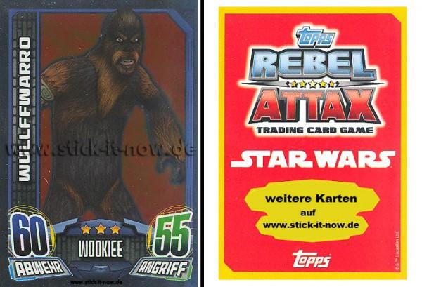 Rebel Attax - Serie 1 (2015) - WULLFFWARRO - Nr. 146 ( Spiegelfolienkarte )