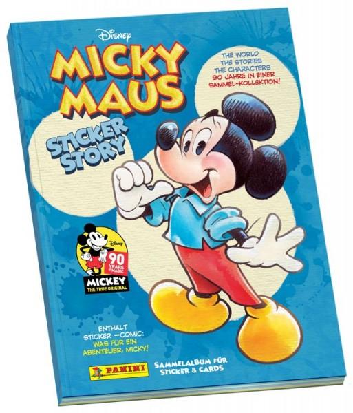 """90 Jahre Micky Maus """"Sticker-Story"""" (2018) - Stickeralbum"""