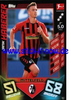 "Topps Match Attax Bundesliga 2019/20 ""Action"" - Nr. 437"