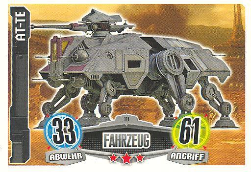 Force Attax - AT-TE - Fahrzeug - Die Republik - Movie Collection