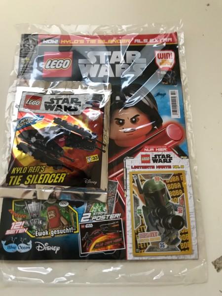 Lego Star Wars Magazin Nr. 54 (mit Lego Figur und LE 9 )