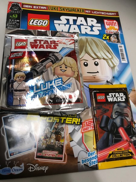 Lego Star Wars Magazin Nr. 43 (mit Lego Figur und Booster)