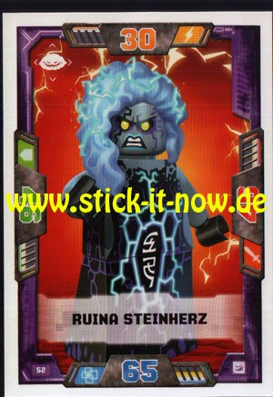 Lego Nexo Knights Trading Cards - Serie 2 (2017) - Nr. 52
