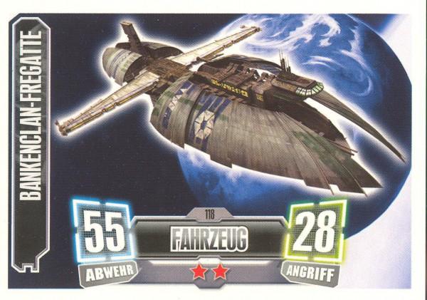Force Attax - Serie II - Bankenclan-Fregatte - Separatist