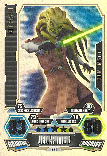 Force Attax - Serie 3 - FORCE-MEISTER - Kit Fisto - Nr. 230