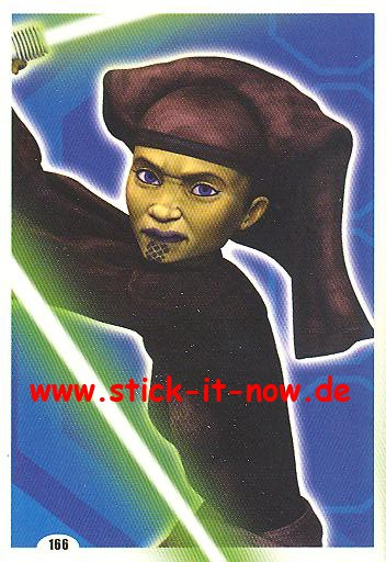 Force Attax - Star Wars - Clone Wars - Serie 4 - STRIKE FORCE - Jedi-Ritter - Nr. 166