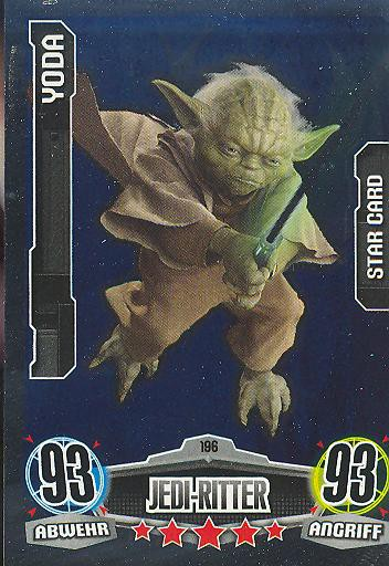 Force Attax - YODA - Jedi-Ritter - STAR-CARD - Movie Collection