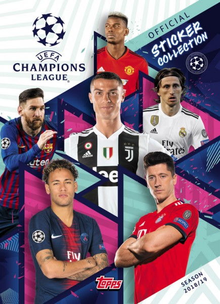 "Champions League 2018/2019 ""Sticker"" - Stickeralbum"