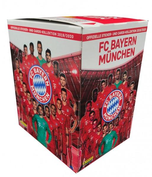 """FC Bayern München 19/20 """"Sticker"""" - Display ( 36 Tüten )"""