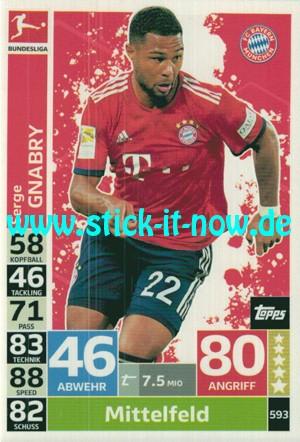 """Topps Match Attax Bundesliga 18/19 """"Extra"""" - Nr. 593"""
