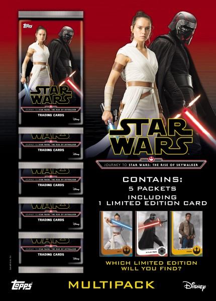 """Star Wars """"Der Aufstieg Skywalkers"""" (2019) - Multipack"""