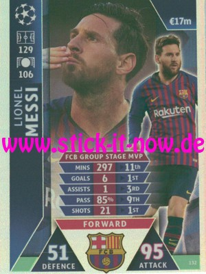 """Match Attax CL 18/19 """"Road to Madrid"""" - Nr. 132"""