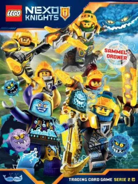 Lego Nexo Knights Trading Cards - Serie 2 (2017) - Starter-Set