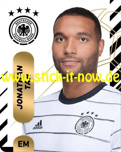 "Ferrero Team Sticker EM 2020 (2021) - ""Portrait"" Nr. 9 ( Tah )"