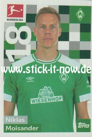 "Topps Fußball Bundesliga 18/19 ""Sticker"" (2019) - Nr. 38"