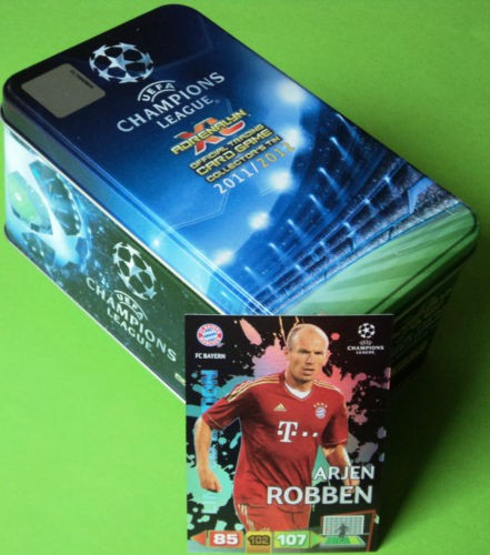 Panini Adrenalyn XL 11/12 Tin Box - Arjen Robben