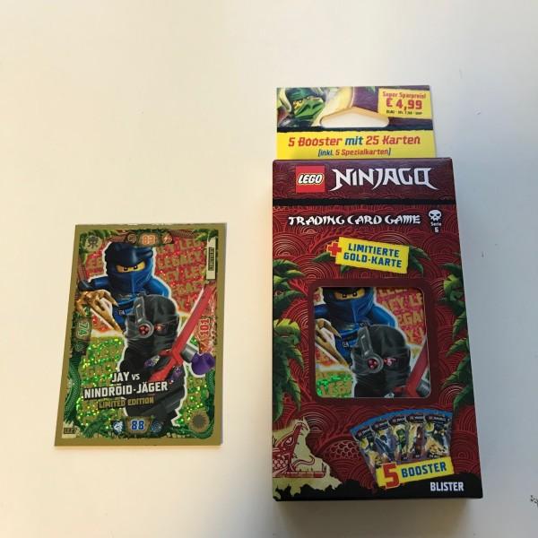 Lego Ninjago Trading Cards - SERIE 6 (2021) - Blister 4 ( LE 27 )