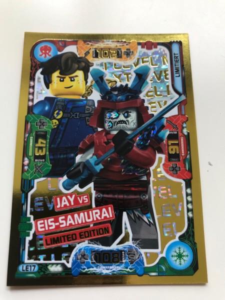 "Lego Ninjago Trading Cards - SERIE 5 ""Next Level"" (2020) - Nr. LE17"