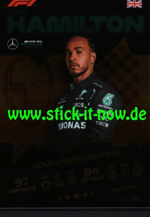 "Turbo Attax ""Formel 1"" (2021) - Nr. LE2G (Limitierte Auflage)"