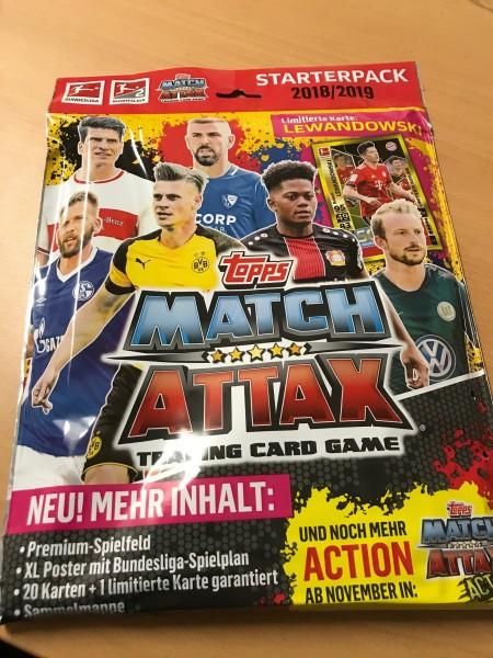 Topps Match Attax Bundesliga 18/19 - Starter-Set