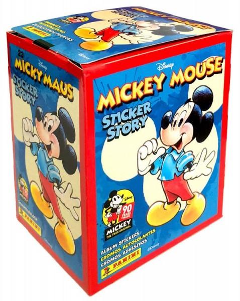 """90 Jahre Micky Maus """"Sticker-Story"""" (2018) - Display ( 50 Tüten )"""
