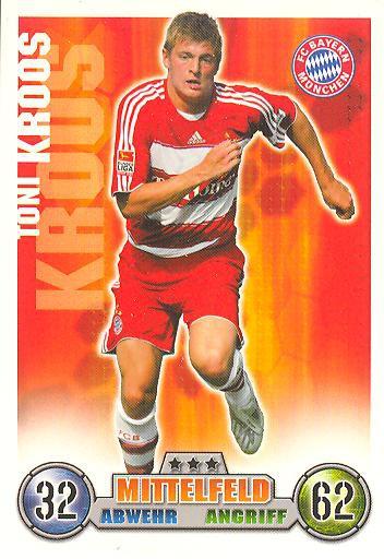 Toni Kroos - Match Attax 08/09 - Bayern München