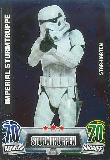 Force Attax Movie Collection - Serie 2 - Star-Karte - Imperial Sturmtruppe - Nr. 205