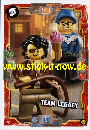 Lego Ninjago Trading Cards - SERIE 6 (2021) - Nr. 72