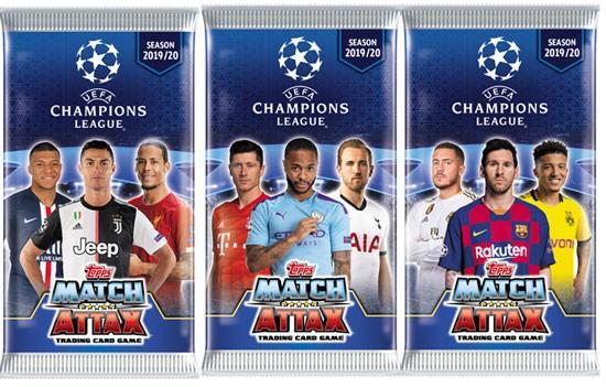 Match Attax Champions League 2019/20 - Booster ( 6 Karten )