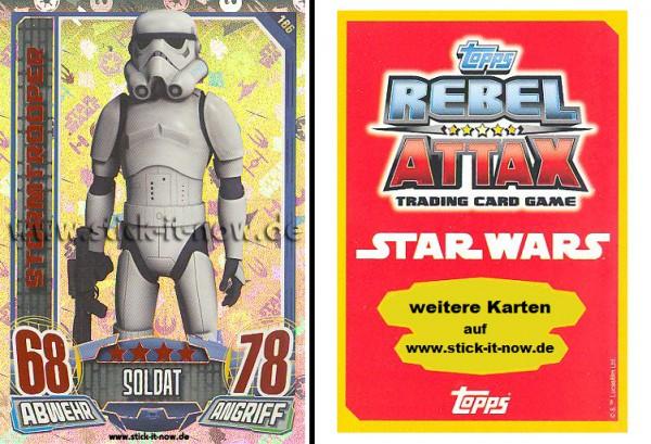 Rebel Attax - Serie 1 (2015) - STORMTROOPER - Nr. 186 ( Holo-Foil Karte )