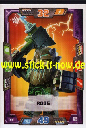 Lego Nexo Knights Trading Cards - Serie 2 (2017) - Nr. 58