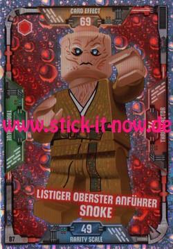 Lego Star Wars Trading Card Collection (2018) - Nr. 87 (Glitzer)