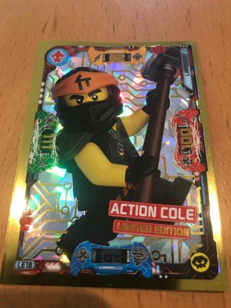 Lego Ninjago Trading Cards - SERIE 5 (2020) - Nr. LE18 ( Limited )