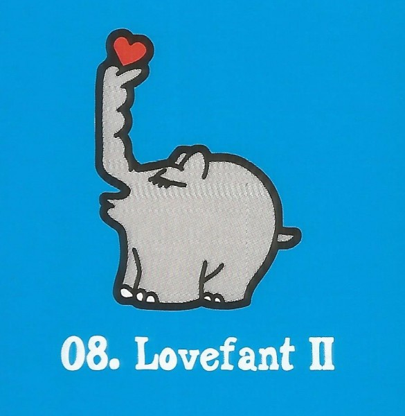 Edeka Ottifanten (2020) - Nr. 8 Lovefant II